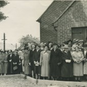 Dedication Service of new St.Matthew's Church Tyllwyn.