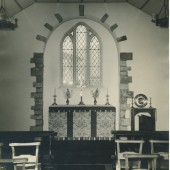 Original Window in St.Matthew's Church,Tyllwyn.