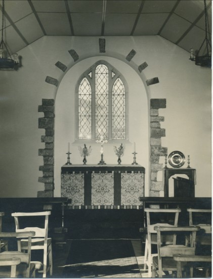 Original Window in St.Matthew's Church,Tyllwyn.