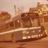 Last Jones's Bus to Pass through Tyllwyn.
