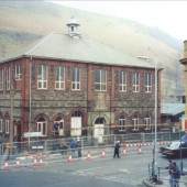 Cwm Institute,before being demolished.