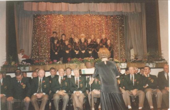 Cwm Male Choir and Sonlight Singers.