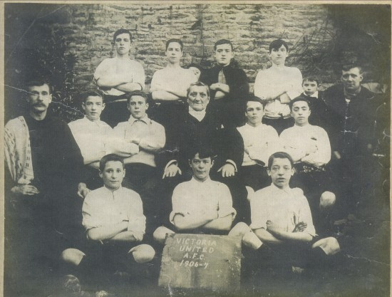 Victoria United Football Team 1907