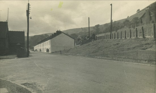 View South to Queen Street and Victoria Mixed School
