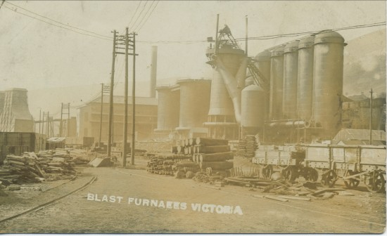 Victoria Steelworks,Blast Furnaces