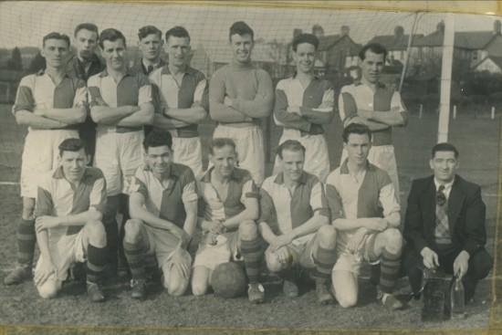 Cwm Welfare Football Team