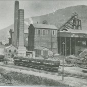 Cwm Marine Colliery,view East