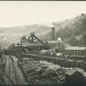 Marine Colliery,Cwm,view South.