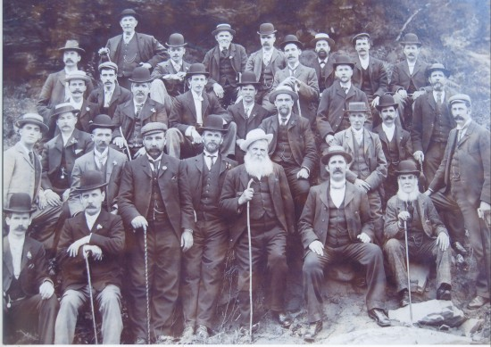 Waunlwyd Colliery Officials  1901