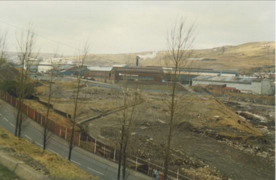South End Of The Ebbw Vale Steelworks