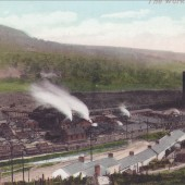 View South of the first Victoria Iron Works