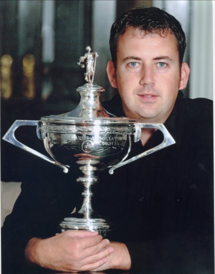 Mark Williams ,World Snooker Champion 2000 and 2002,U.K.Champion 2002,Masters Champion 2002.