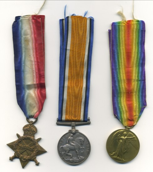 World War 1 Medals    Walter Harris