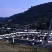 New Footbridge in Cwm