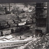 View of Waunlwyd Colliery from The Lime Plant