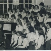 Cwm School Choir