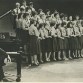 Cwm School Choir at T.W.W.Studios