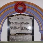 Memorial Organ at Ebenezer Baptist Church, Park Place, Abertillery