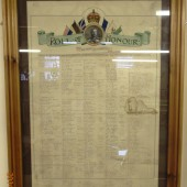 ROLL OF HONOUR - TEACHERS AND PAST SCHOLARS OF THE BLAINA BOYS SCHOOL NOW SERVING WITH THE COLOURS