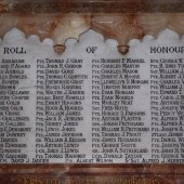 Saint Mary's (Anglican) Church WW1 Roll of Honour, Brynmawr
