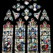 Saint Mary's (Anglican) Church, Brynmawr - Memorial window dedicated to James Joynson