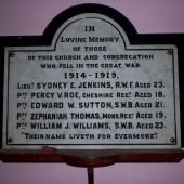 Siloh Baptist Church, Bridge Street, Tredegar - Sydney Emlyn Jenkins