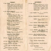 Programme and souvenir of Julian's visit, 28 & 29 June 1918 at Ebbw Vale pages 2 and 3