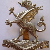 Cap Badge of 3rd Battalion of the Monmouthshire Regiment