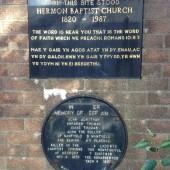 Hermon Baptist Church - site of