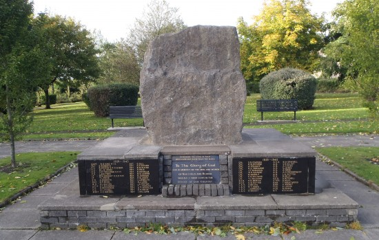 Nantyglo and Blaina Civic War Memorial, Central Park, Blaina