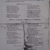HOLY TRINITY CHURCH WORLD WAR 1 MEMORIAL - DEDICATION SERVICE p4