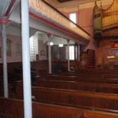 Siloh Baptist Church interior - January 2015