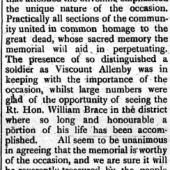 South Wales Gazette 3 Dec 1926