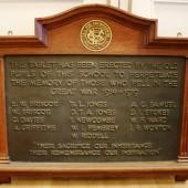 Ebbw Vale County School WW1 Plaque