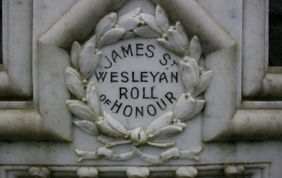 James Street Wesleyan Church Memorials, Ebbw Vale