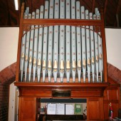 Memorial Organ - Saint David's Church, Beaufort, Ebbw Vale