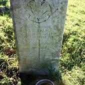 John Henry Evans, Cefn Golau cemetery, Tredegar