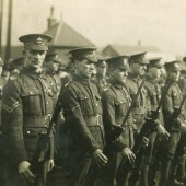 Monmouthshire Regiment at the Crossing, Ebbw Vale