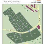Cefn Golau Cemetery, Tredegar