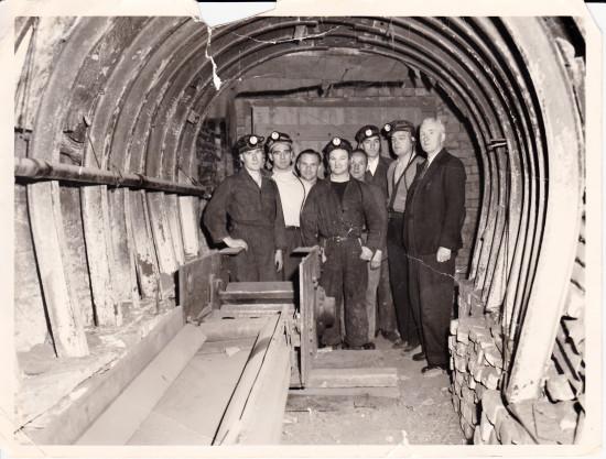 Llanhilleth Colliery Mines Resue Team circa 1955