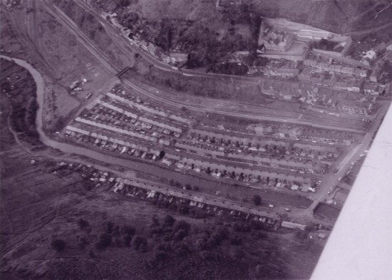 Aerial view of Llanhilleth 6