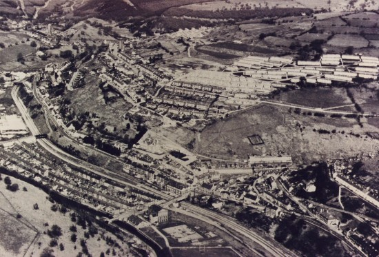 Aerial view of Llanhilleth 3