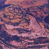 Aerial view of Llanhilleth 2