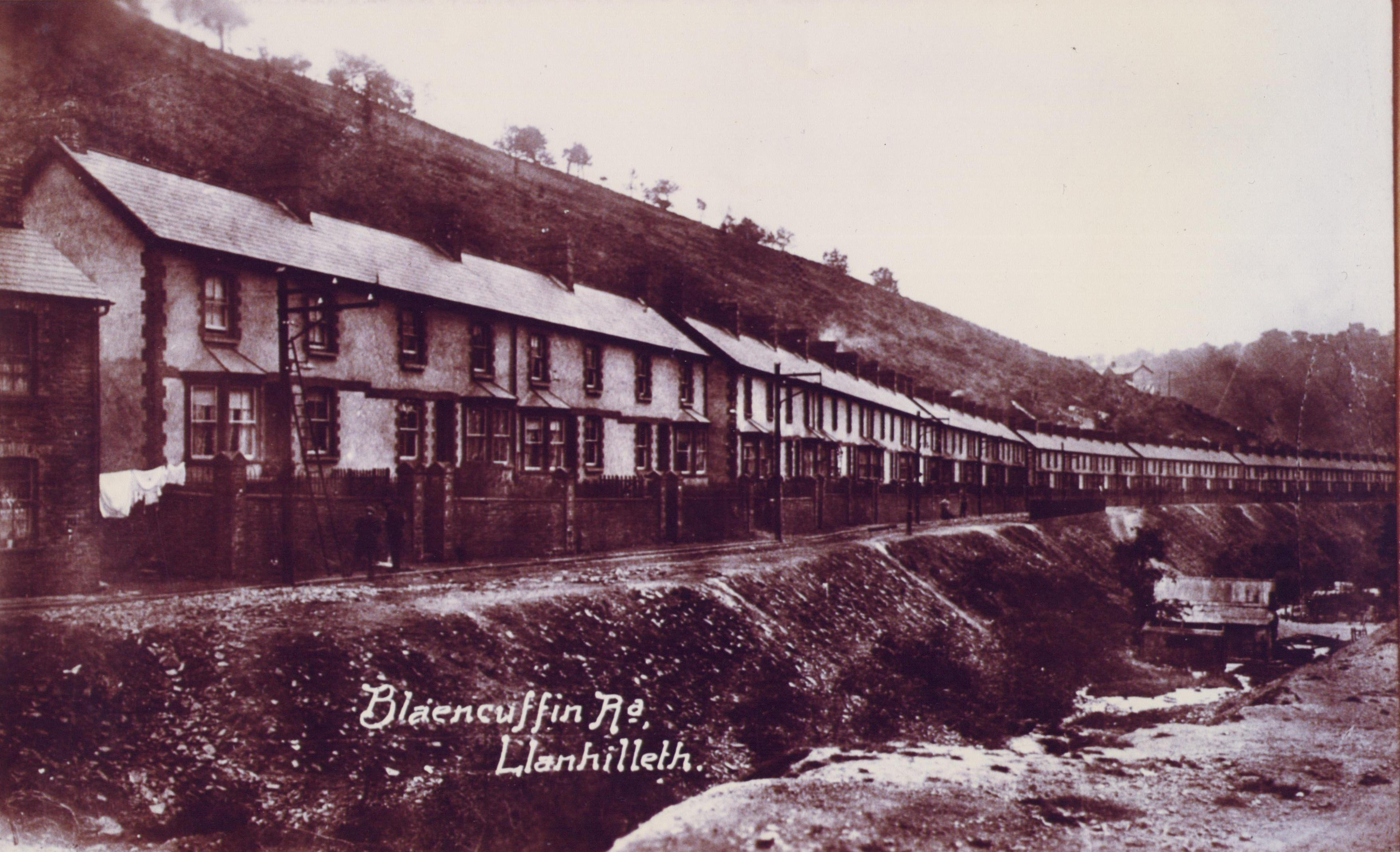 Blaencuffin Road, Llanhilleth