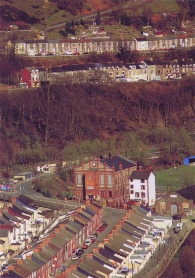 Llanhilleth Fields, Institute and High Street