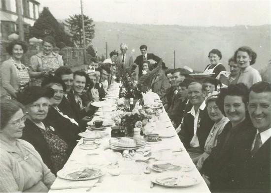Penygraig Terrace Coronation Party 1953