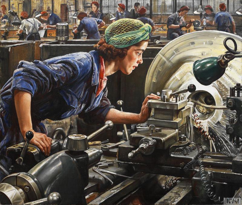 Ruby Loftus: Iconic WWII image