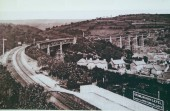 Crumlin Viaducts: View from Crumlin High Level Station