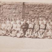 Old School sports representatives, 1946