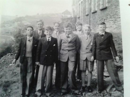 Zion Chapel scholars 1956